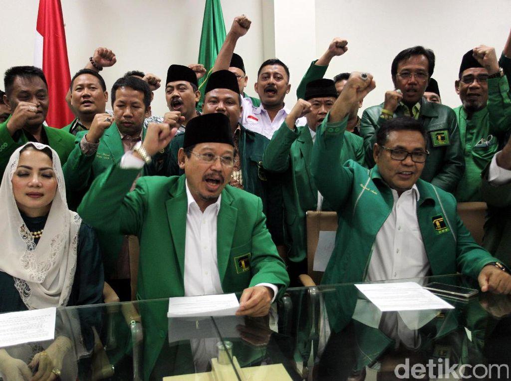 Dukung Ahok, Djan Pastikan PPP Tetap Usung Agus Yudhoyono di Pilgub DKI