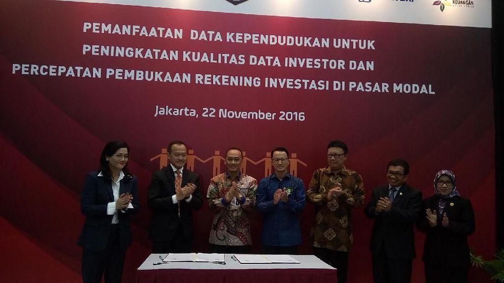 Manfaatkan Data Kependudukan, Buka Rekening Investasi di Bursa Hanya 15 Menit