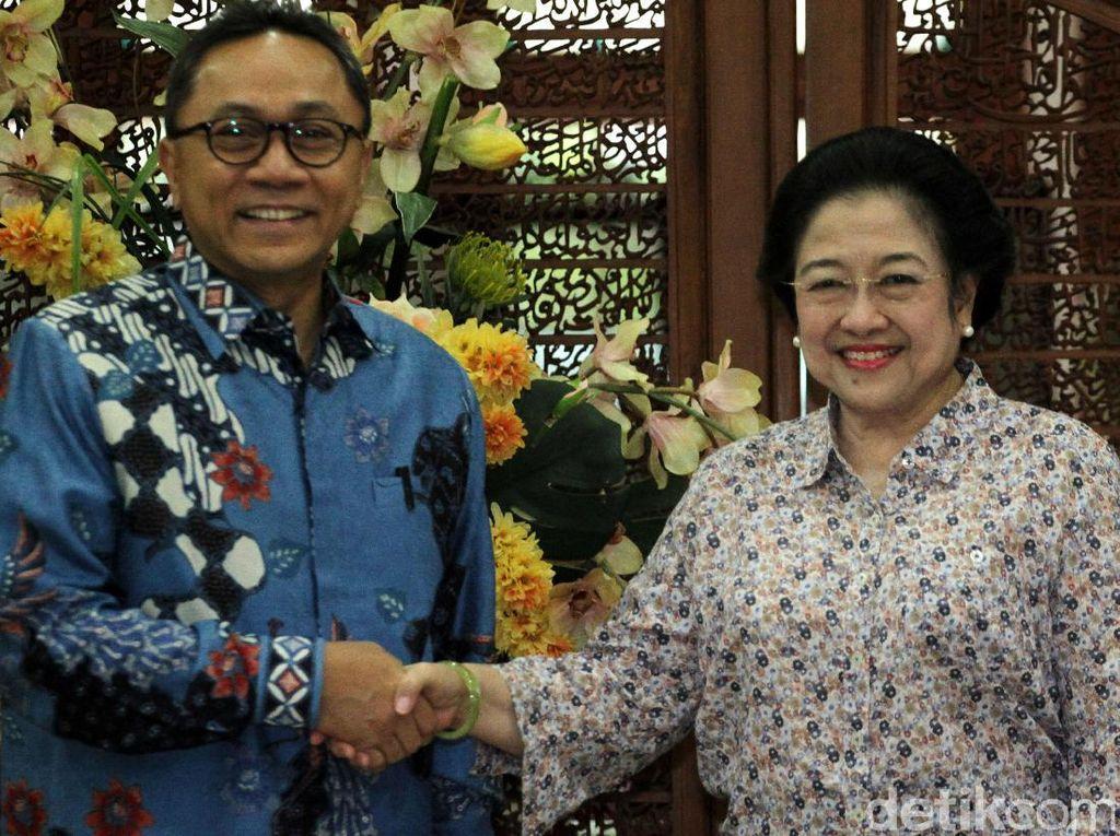 Zulkifli Hasan Temui Megawati