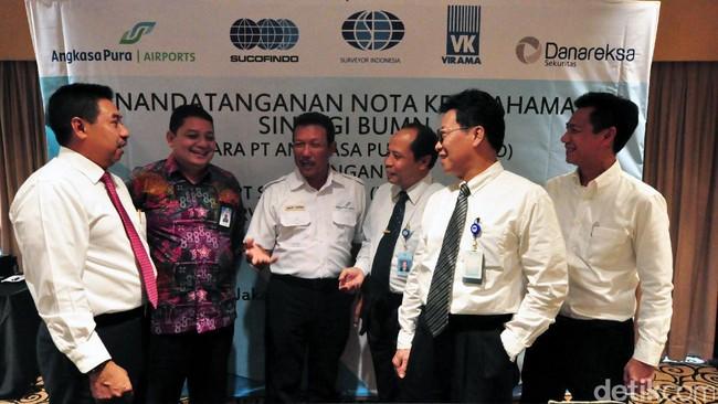 Sucofindo dan AP I Kerja Sama Pengawasan Operasional dan Konstruksi Bandara
