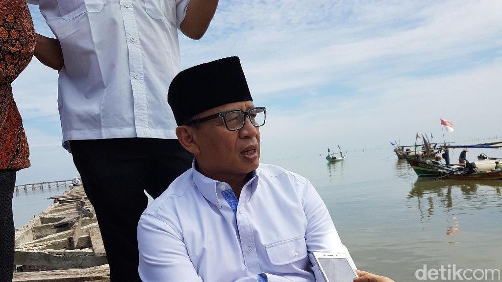 Cagub Banten Wahidin Minta KPK Bongkar Indikasi Korupsi di Pilkada Banten