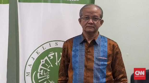 Sekjen MUI Anwar Abbas. (CNN Indonesia/Alfani Roosy Andinni)