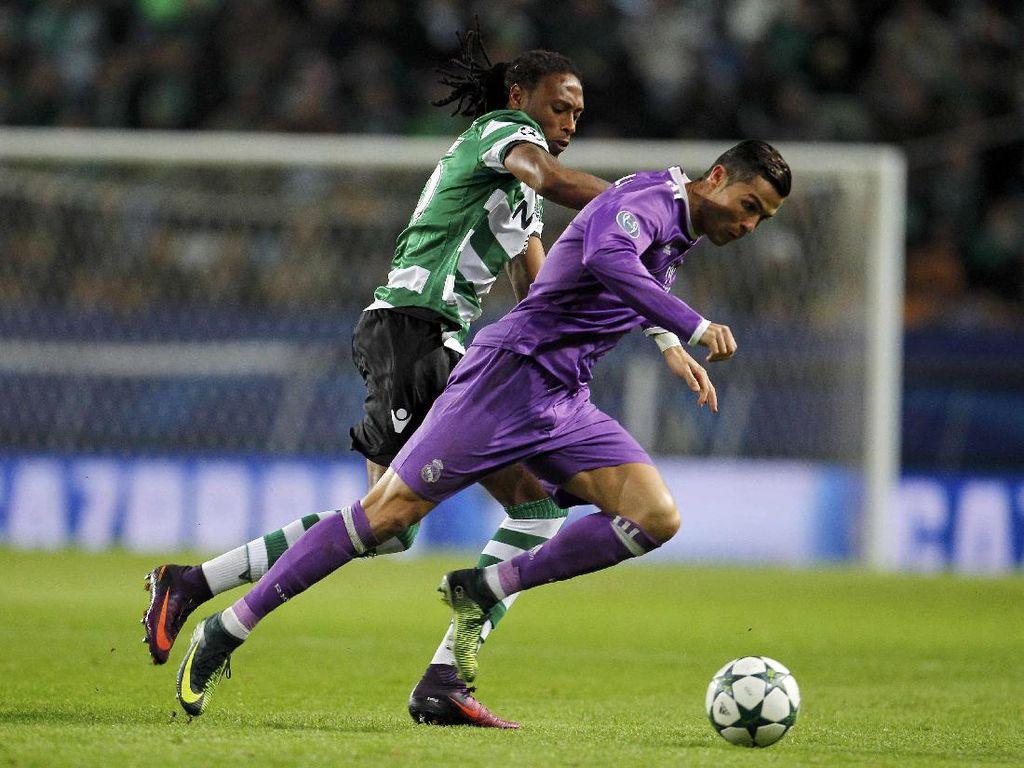 Kalahkan Sporting, Madrid Lolos ke Babak 16 Besar