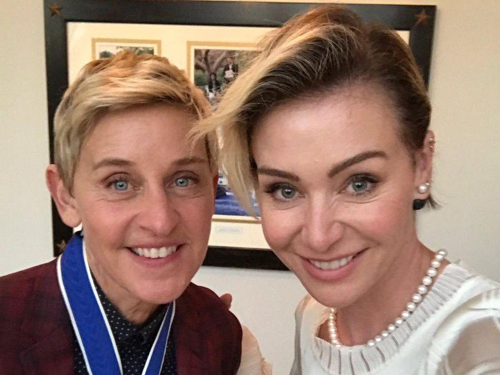Pernikahan Ellen DeGeneres dan Portia de Rossi Disebut Kembali Bermasalah