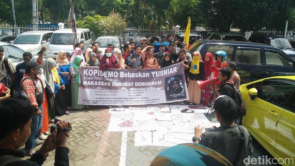 Gara-gara Status Facebook, Yusniar Jadi Tahanan Kota