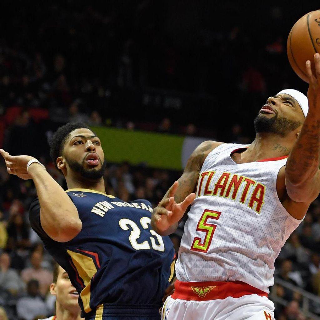 Hawks Kalah Lagi, Kali Ini di Tangan Pelicans
