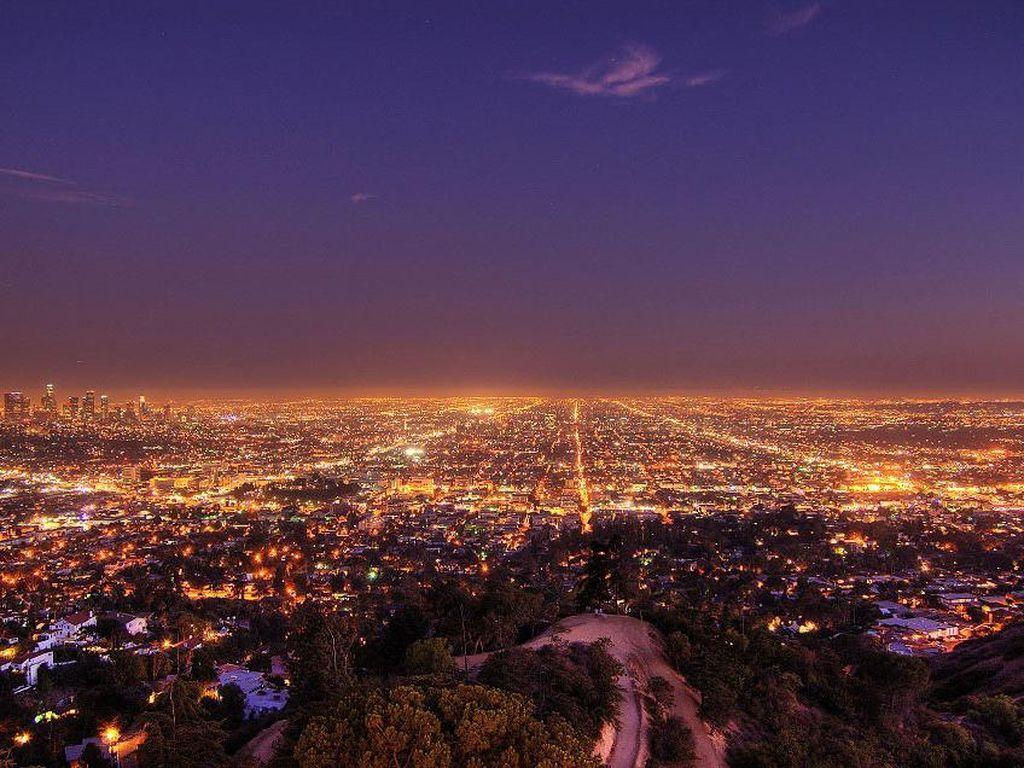 Lampu Jalan di Los Angeles Bisa Beri Tahu Kecelakaan