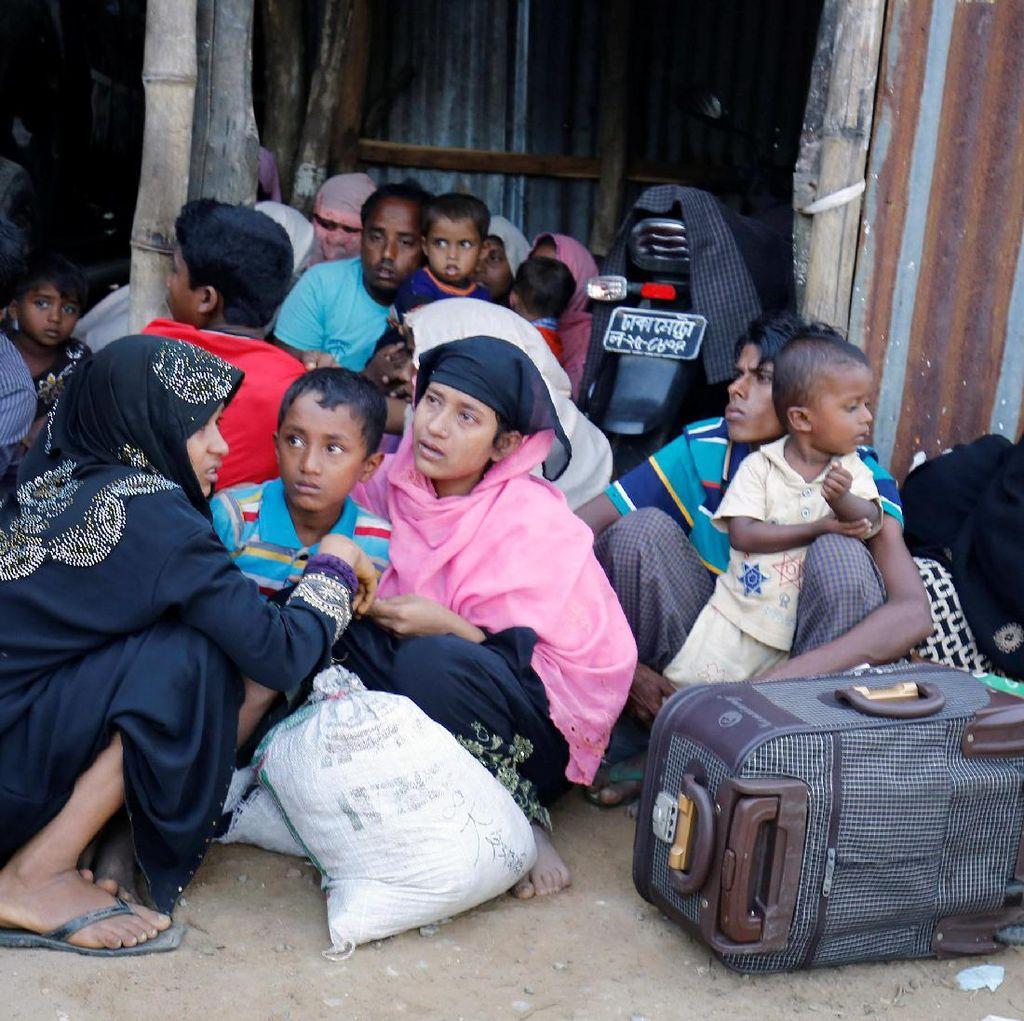 Hindari Konflik di Myanmar, 21 Ribu Warga Rohingya Kabur ke Bangladesh