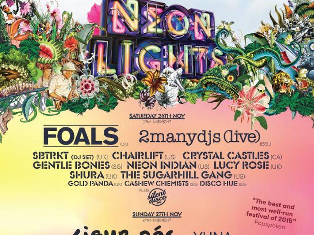 Foals dan Sigur Ros Tampil di Neon Lights Festival Singapura
