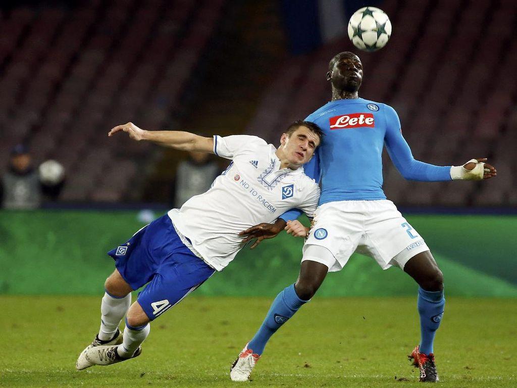 Napoli Diimbangi Dynamo Kiev Tanpa Gol