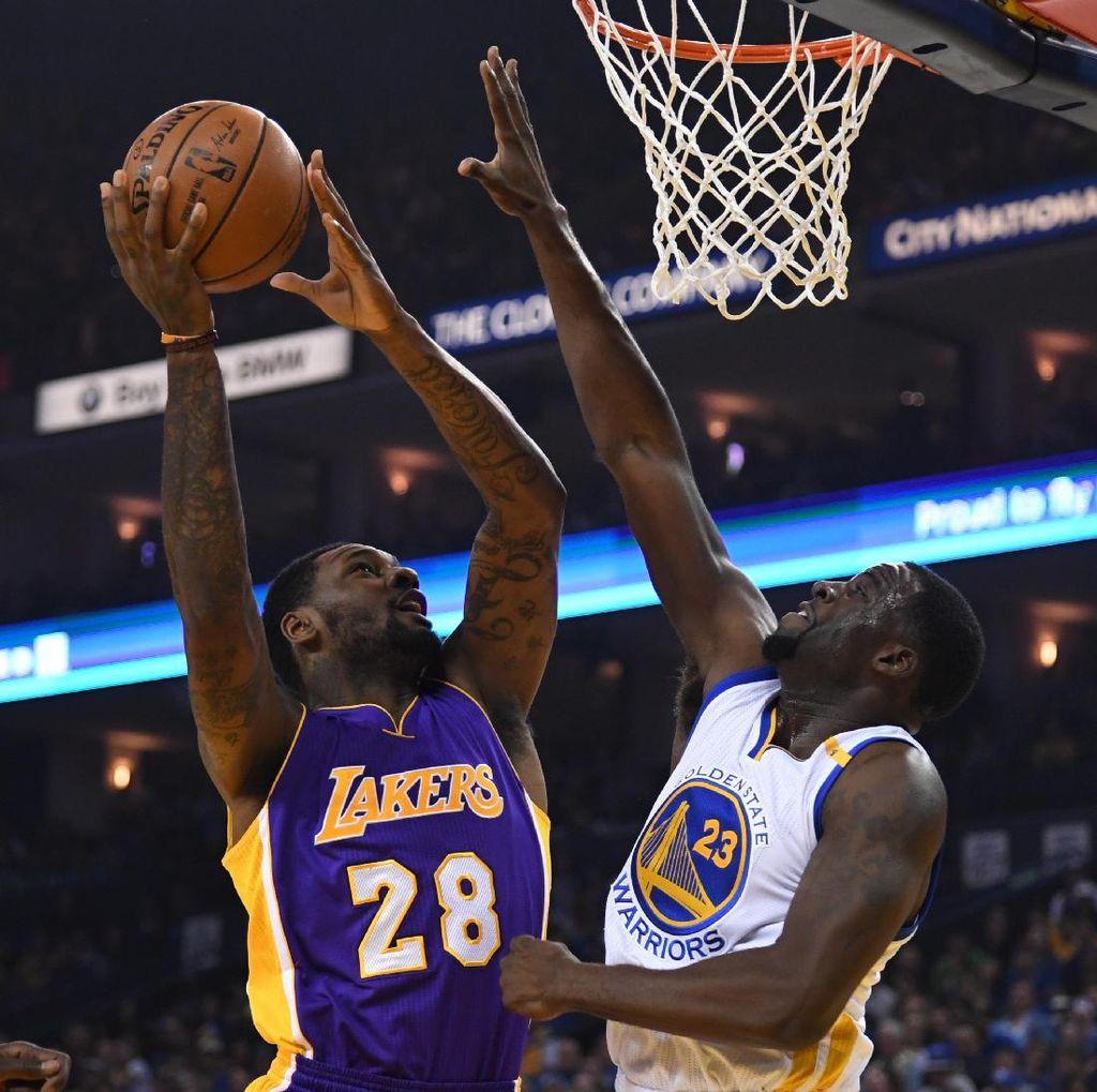 Warriors Lumat Lakers untuk Perpanjang Rentetan Kemenangan