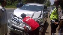 Sopir Ngantuk Picu Tabrakan Beruntun di Jalan Raya Situbondo