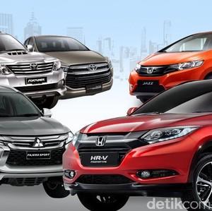 20 Mobil Terlaris 2016
