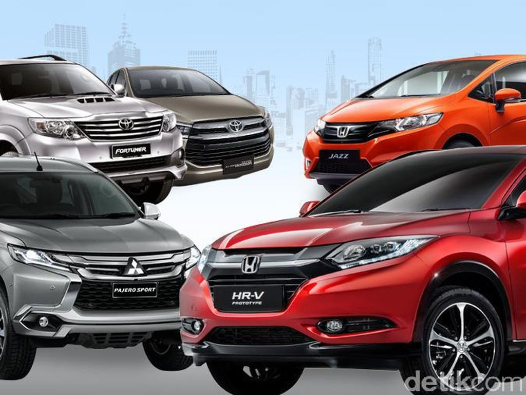 Daftar Mobil Terlaris di Indonesia