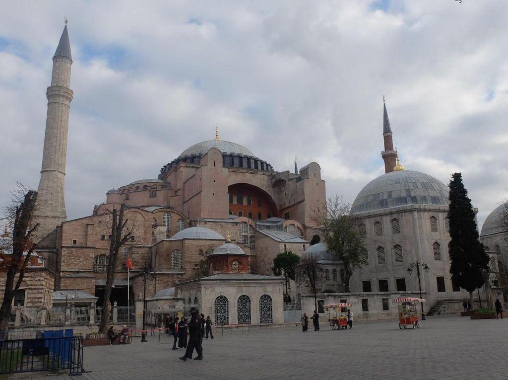 AS Kecewa Hagia Sophia Diubah Jadi Masjid, Yunani Mengecam Keras