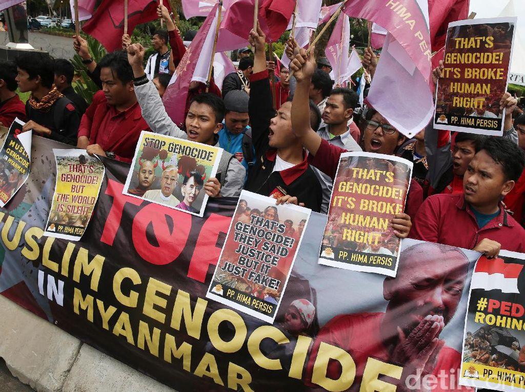 Indonesia Minta Pemerintah Myanmar Hentikan Kekerasan di Rakhine