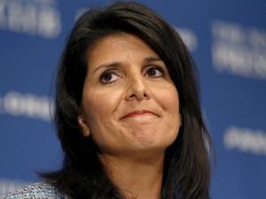 Senat AS Setujui Nikki Haley Jadi Dubes untuk PBB