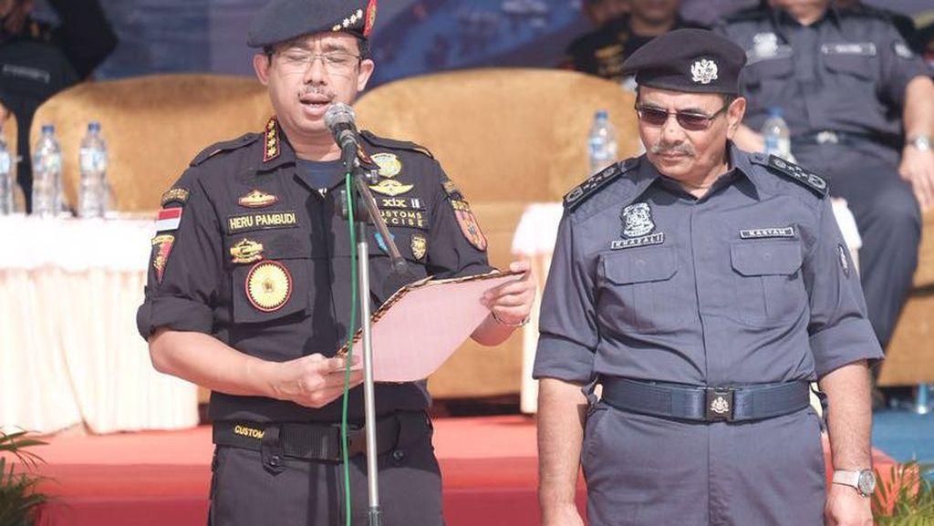 Sinergi Bea Cukai RI-Malaysia Berhasil Gagalkan Penyelundupan Hingga Perdagangan Manusia
