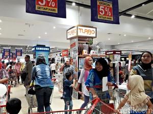 Promo Elektronik Dapur dan Kipas Angin dari Turbo di Transmart Carrefour