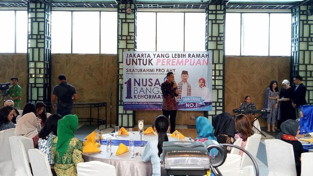 Agus Yudhoyono Janji Jadikan Jakarta Ramah Bagi Perempuan