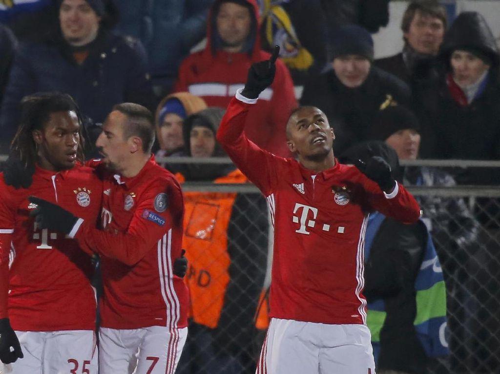 Douglas Costa Targetkan Titel Bundesliga dan Liga Champions