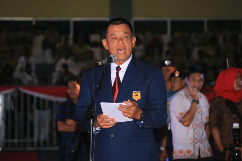 Jenderal Gatot Buka Kejuaraan Karate Tingkat Asia di Makassar