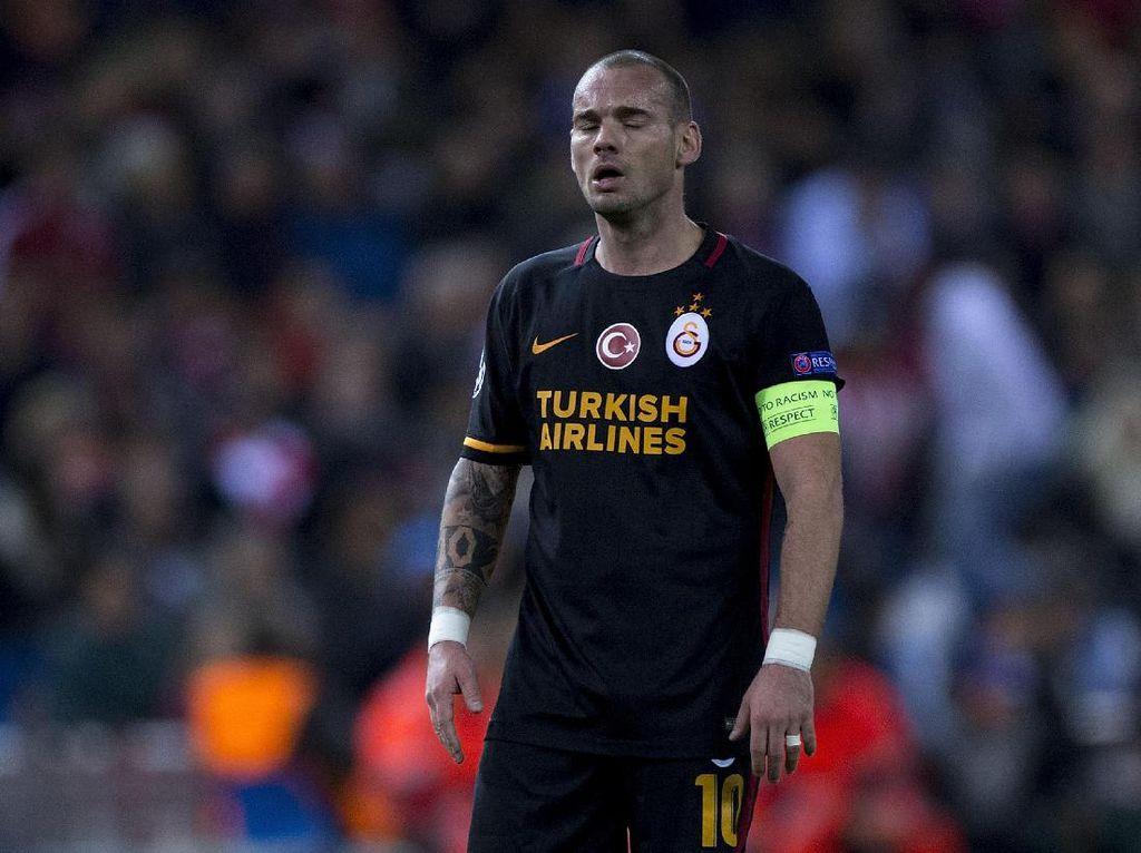 Agen Bantah Rumor Kepindahan Sneijder ke Milan