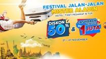 Ayo Cari Tiket Promo Liburan Akhir Tahun di Festival Jalan-jalan