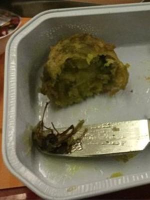 Penumpang Pesawat Ini Temukan Hal Mengerikan di Dalam Makanannya
