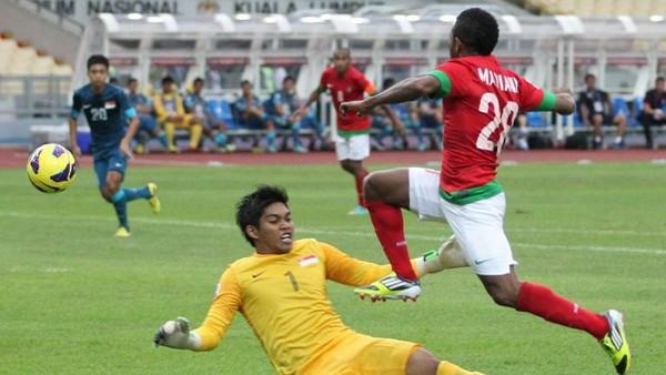 Catatan <i>Head to Head</i> Singapura vs Indonesia