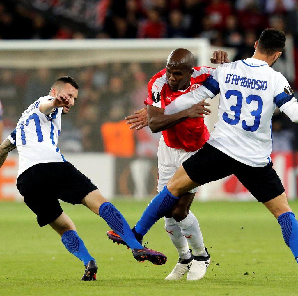 Dikalahkan Klub Israel, Inter Tersingkir