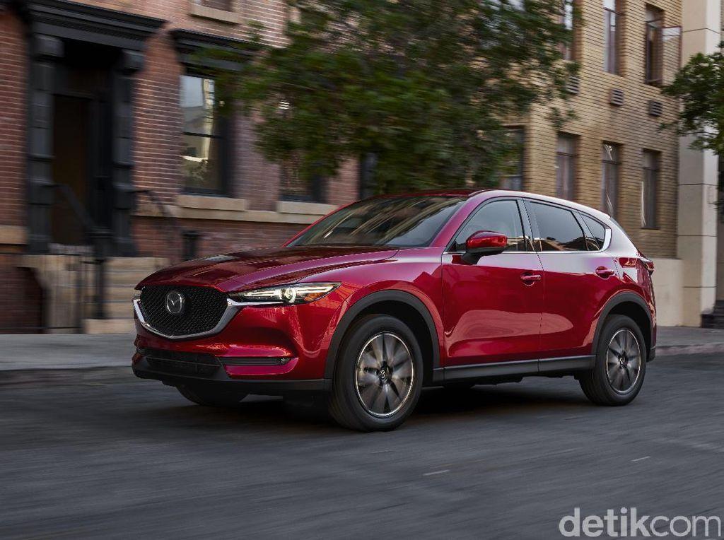 Mazda CX-5 dengan Warna yang Lebih Kinclong