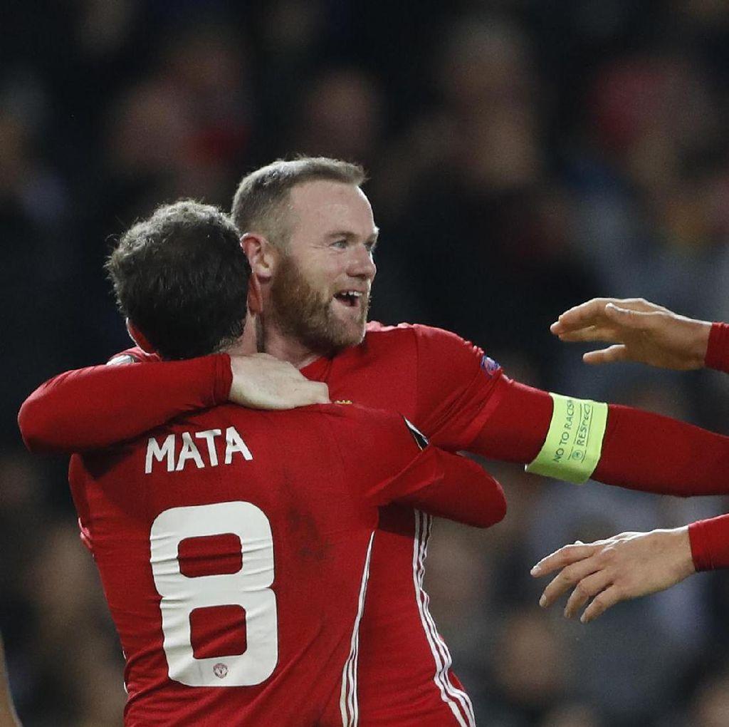 Pujian dan Tantangan Mourinho buat Rooney