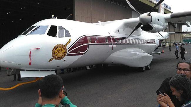 PTDI Kirim Pesawat CN235-220M Pesanan Kepolisian Kerajaan Thailand