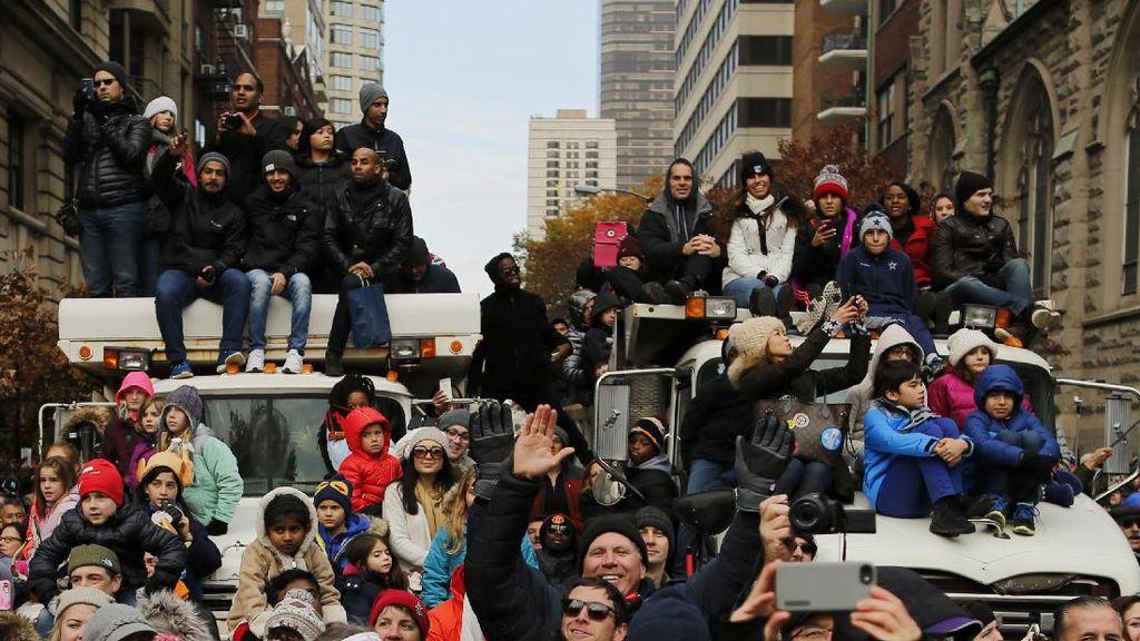 Sempat Diteror ISIS, Warga New York Tetap Antusias Rayakan Parade Thanksgiving