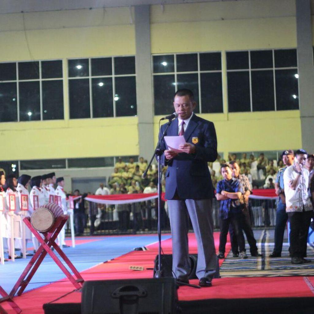 Kejuaraan Karate Tingkat Asia di Makassar Resmi Dibuka