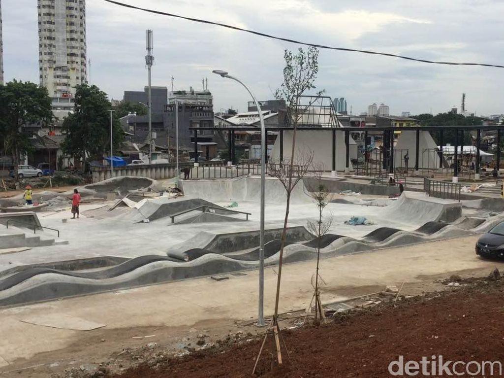 Wajah Kalijodo Kini: Ada Lapangan Futsal hingga Skatepark