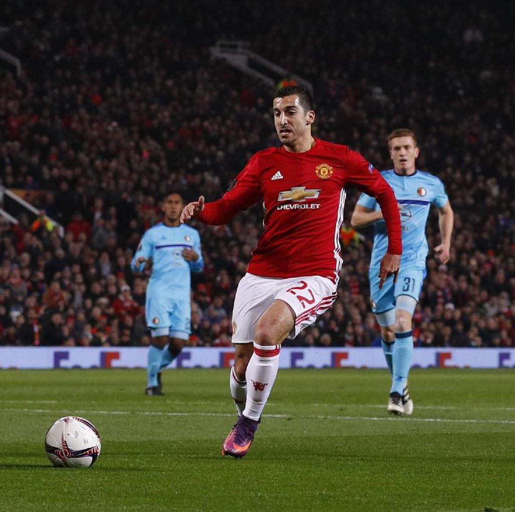 Bagaimana Aksi Mkhitaryan, Mourinho?