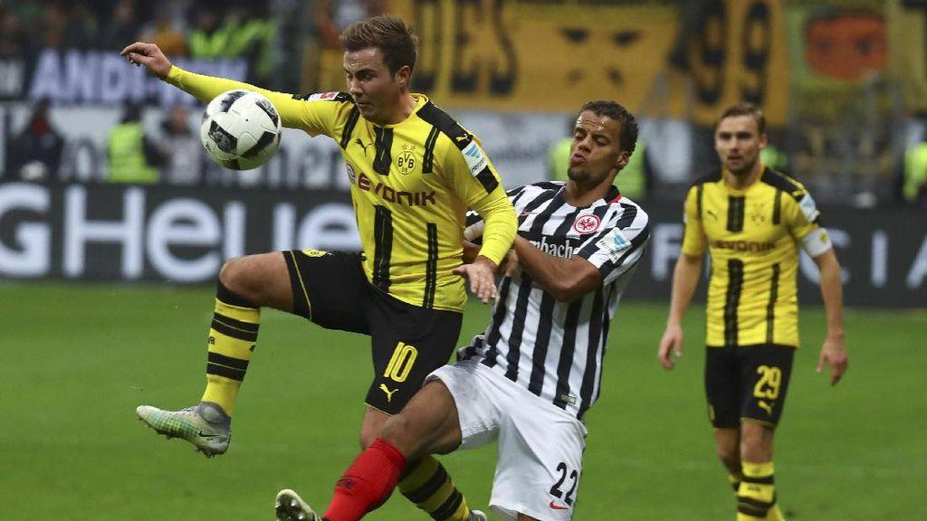 Dortmund Dikalahkan Eintracht Frankfurt