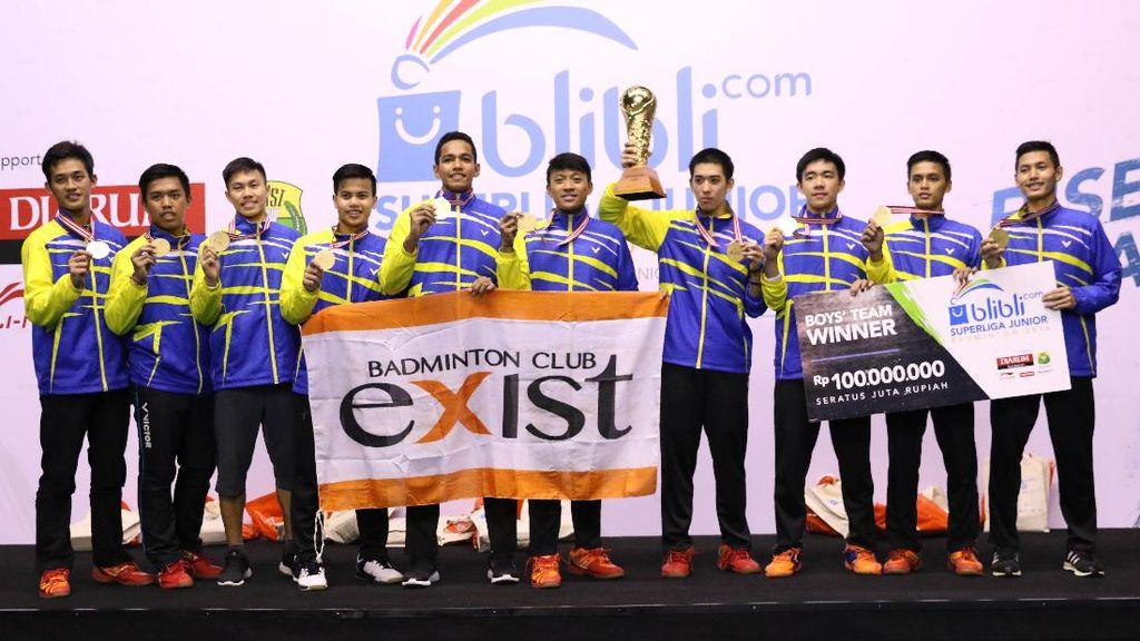 Piala Liem Swie King Milik Exist Jakarta, Piala Susy Susanti Diraih Jaya Raya