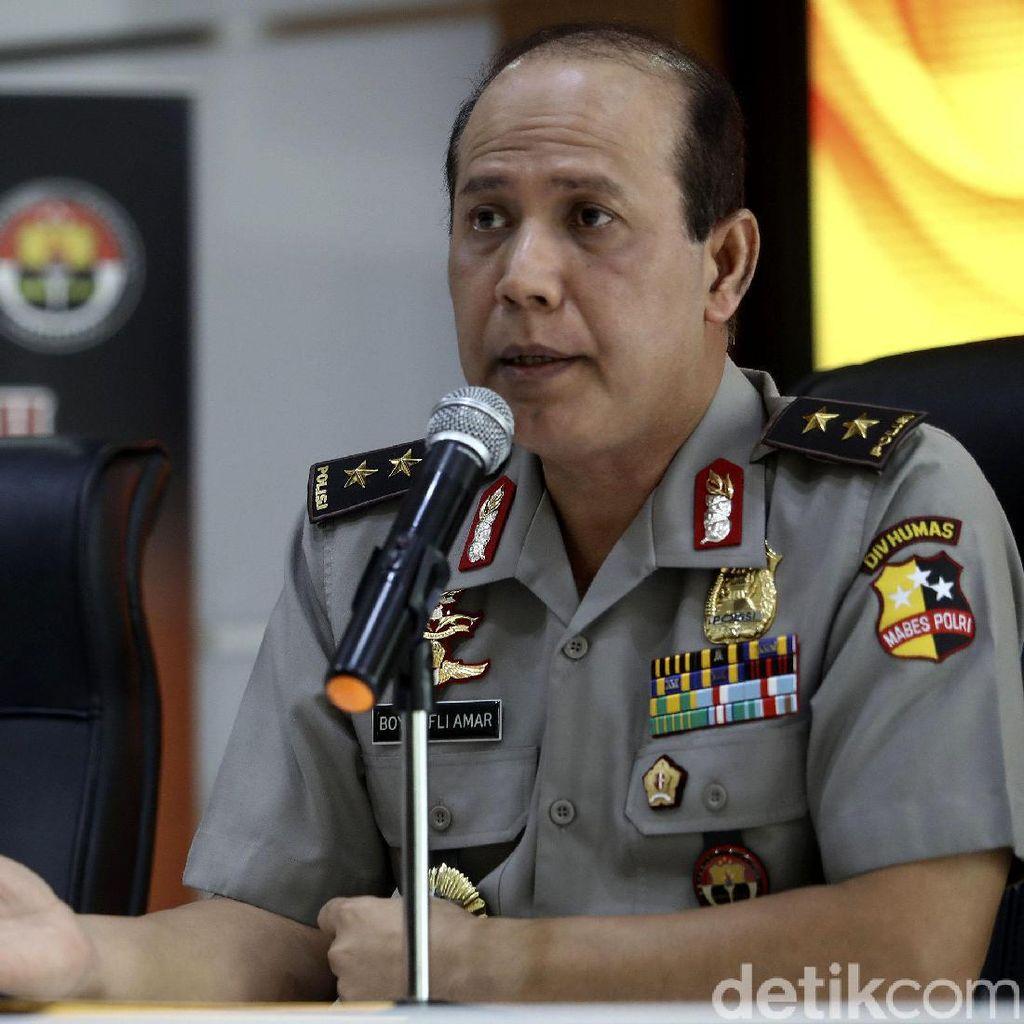 Polri Duga 7 Tersangka Makar Ingin Gerakkan Massa 2 Desember ke DPR