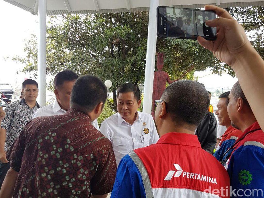 Tiba di Manado, Jonan Kunjungi PLTP Lahendong Unit 5 dan 6