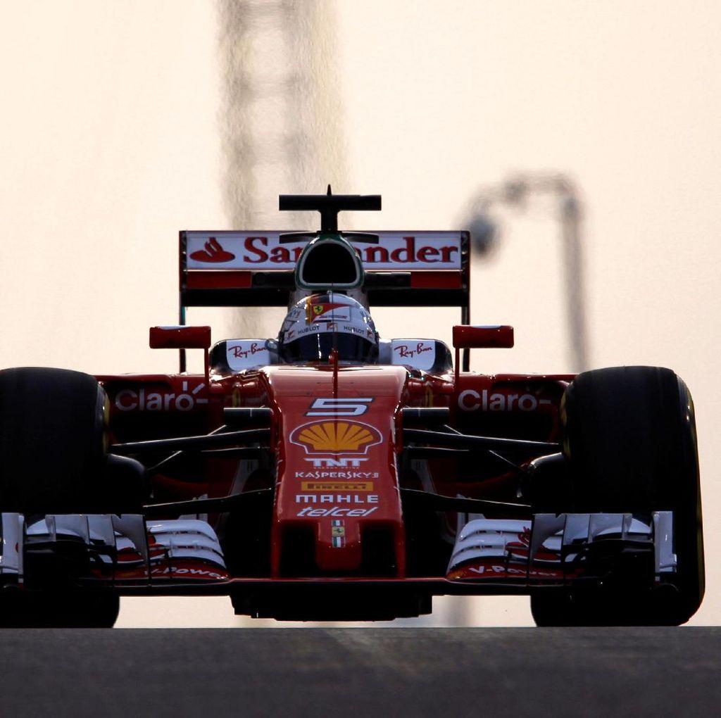 Vettel Tercepat di Sesi Latihan Terakhir