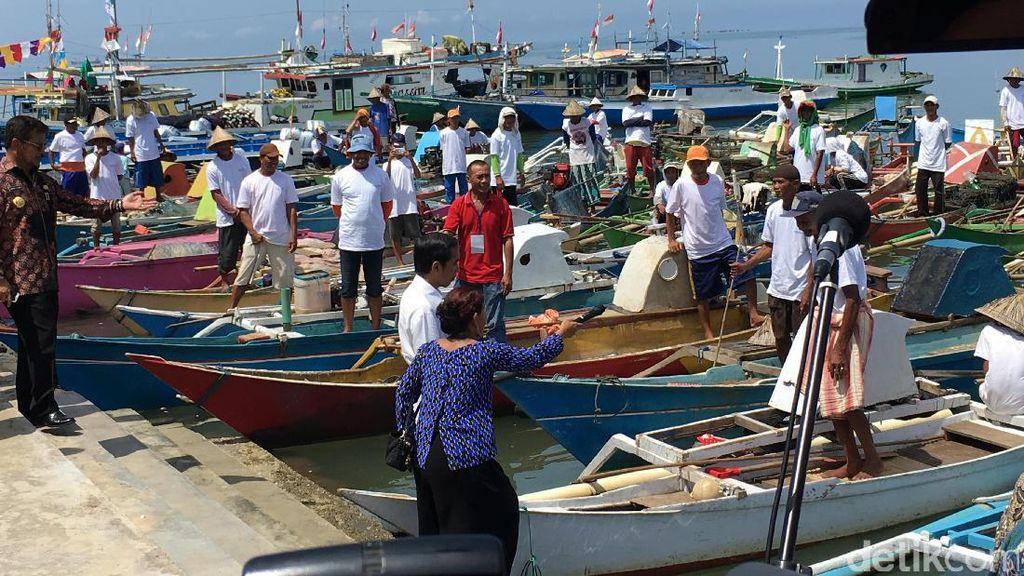 Jokowi: Siapa Berani Curi Ikan di Era Susi? Kapal Bisa Langsung Di-Bleeer!