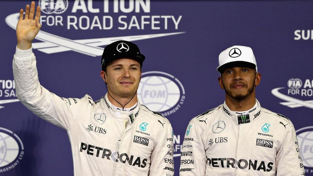 Mercedes Tak Tertarik Gantikan Rosberg dengan Pebalap Top