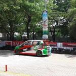 Battle Slalom Pakai Daihatsu Sirion
