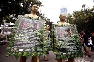 Begini Kampanye Gerakan Cinta Bumi Love & O2 di CFD