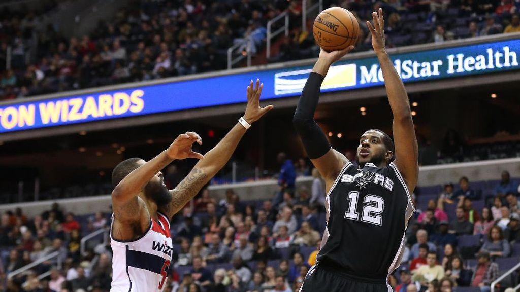 Spurs Lanjutkan Rentetan Kemenangan Usai Tekuk Wizards
