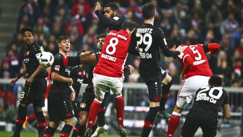Bayern Tundukkan Leverkusen 2-1