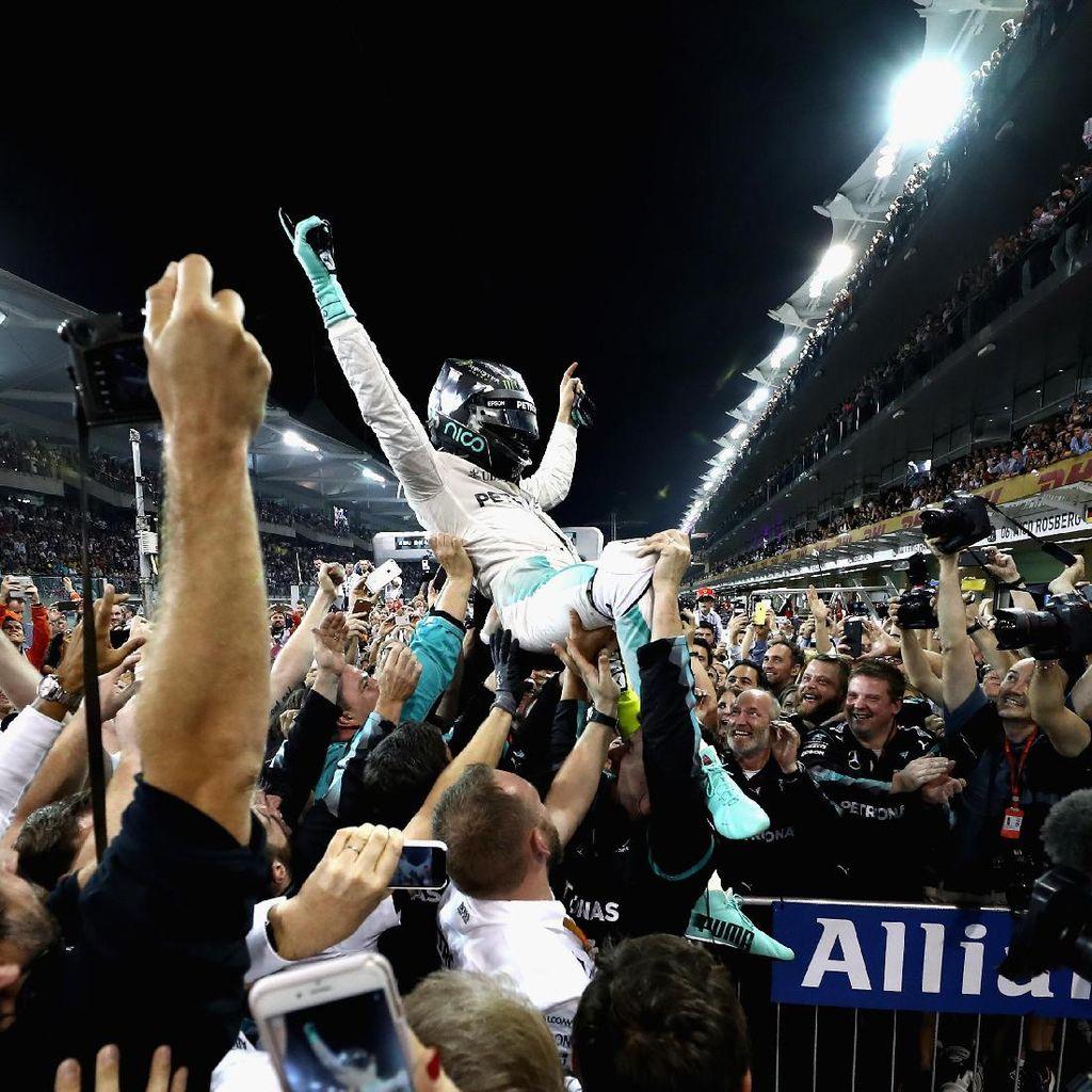 Aksi Bungkam Keke Rosberg Berakhir, Bicara tentang Pencapaian Nico
